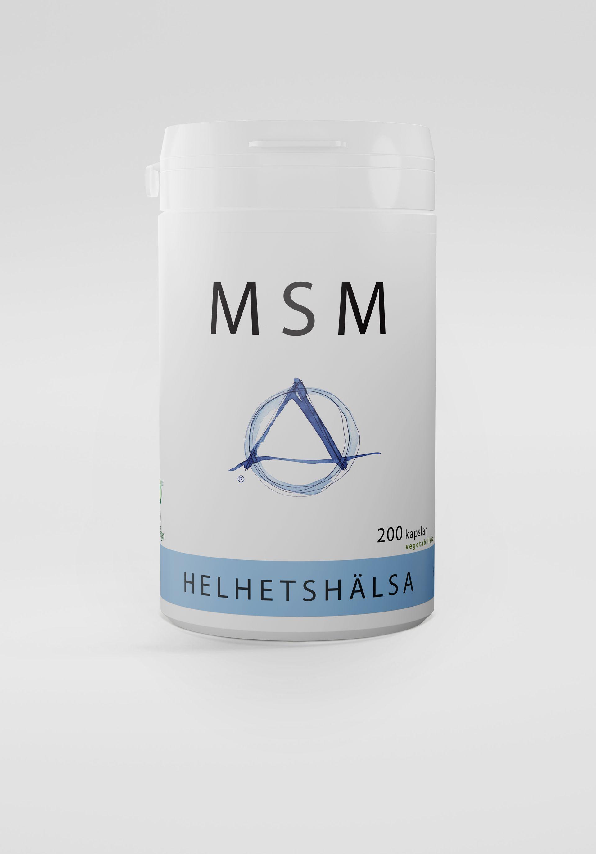 MSM, 200 kapslar