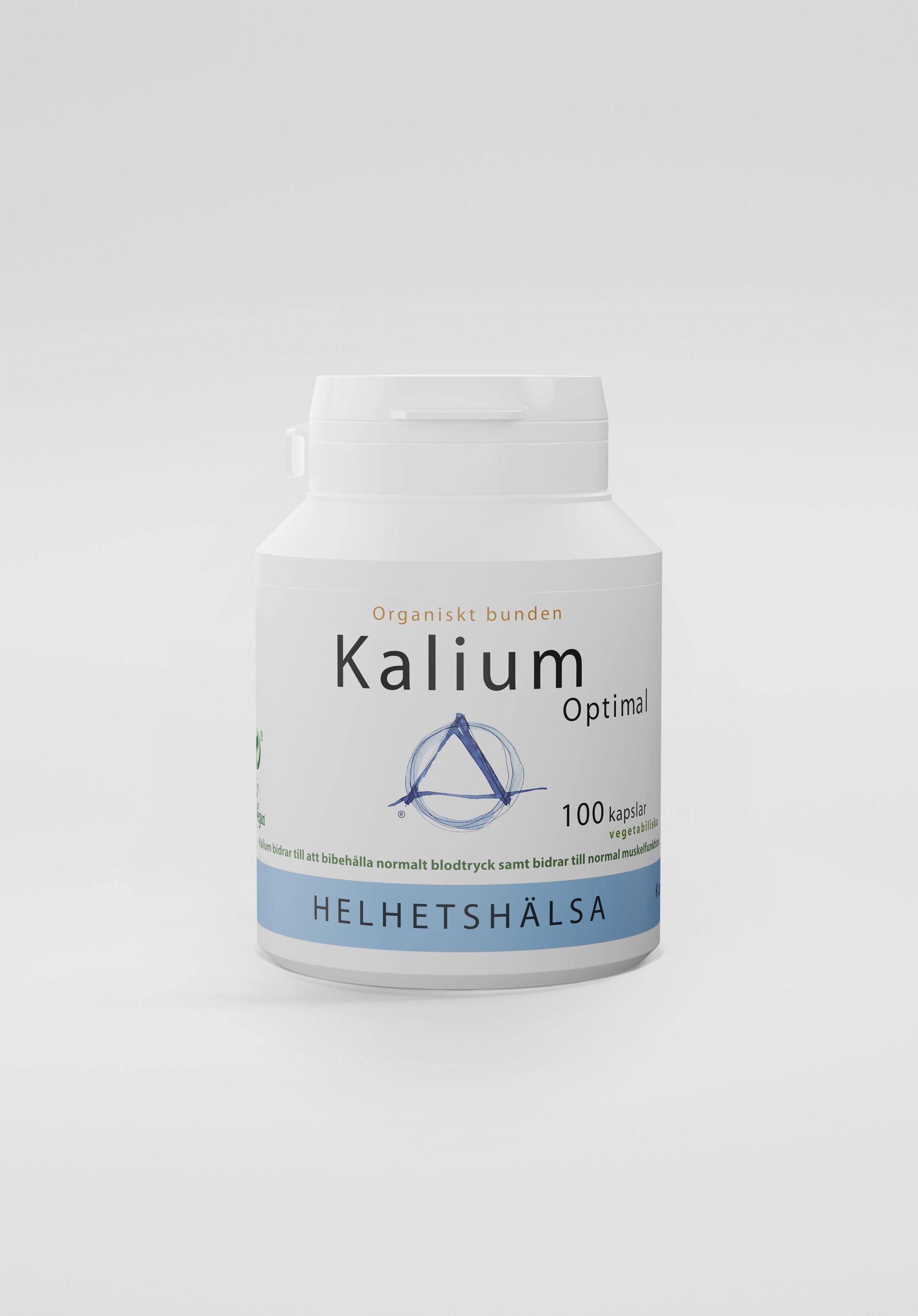 KaliumOptimal, 100 kapslar
