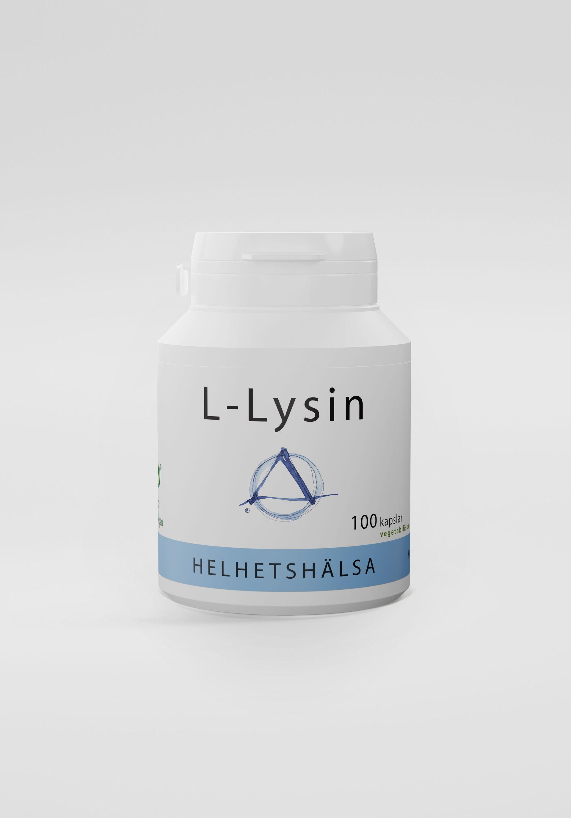 L-Lysin, 100 kapslar