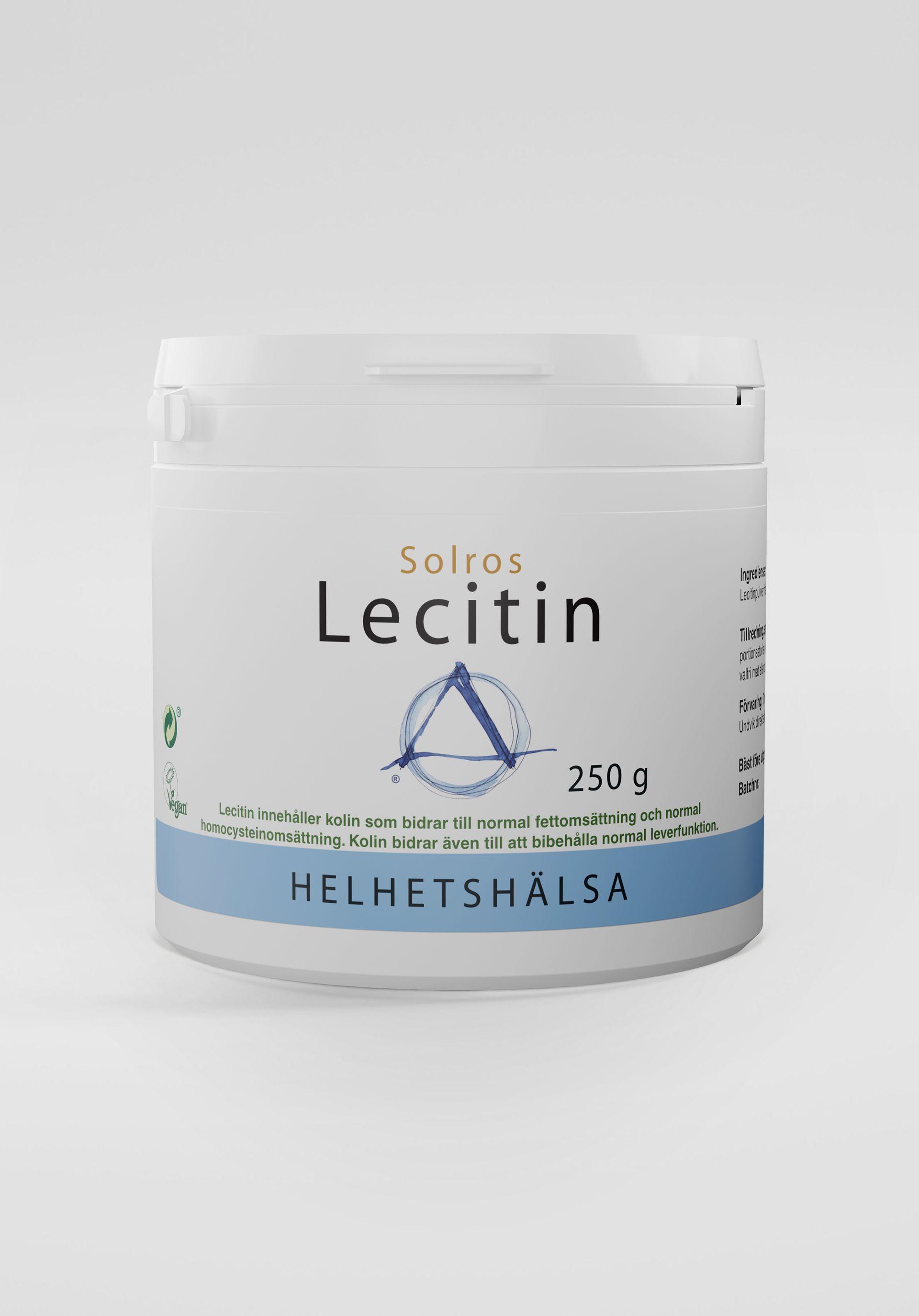Lecitin, solros, 250 g