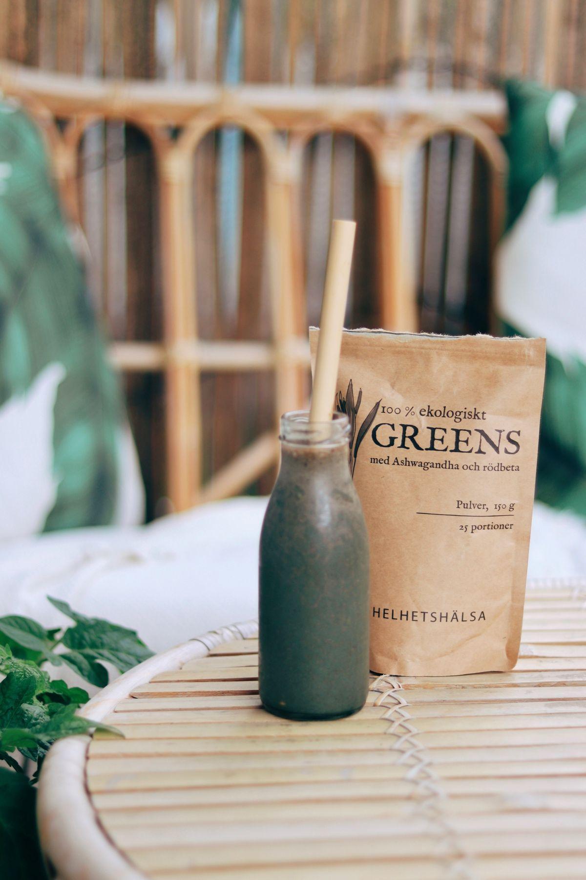 Grön smoothie, Näringsrik grön smoothie