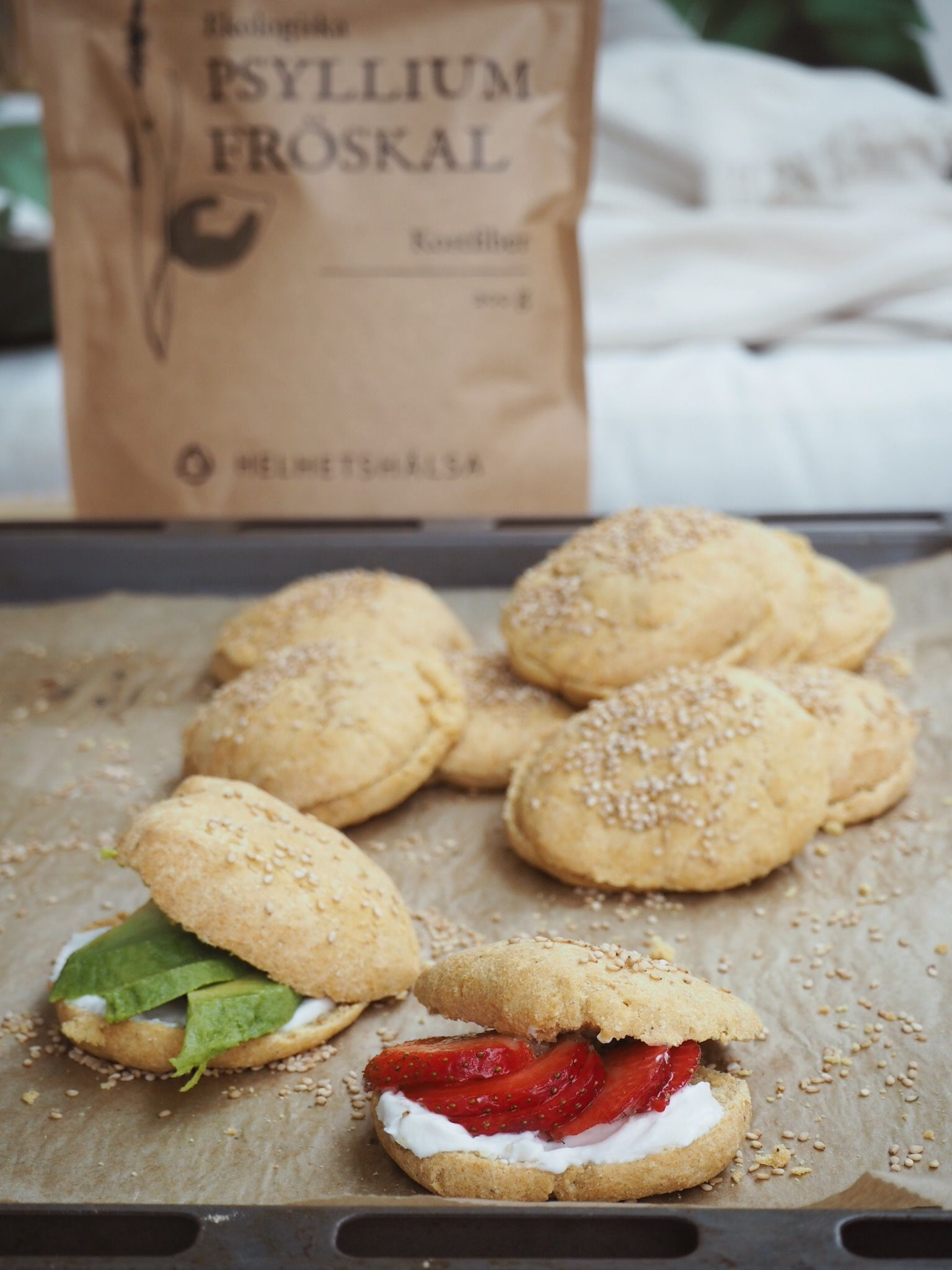 Kikärtsscones, Glutenfria scones av kikärtsmjöl