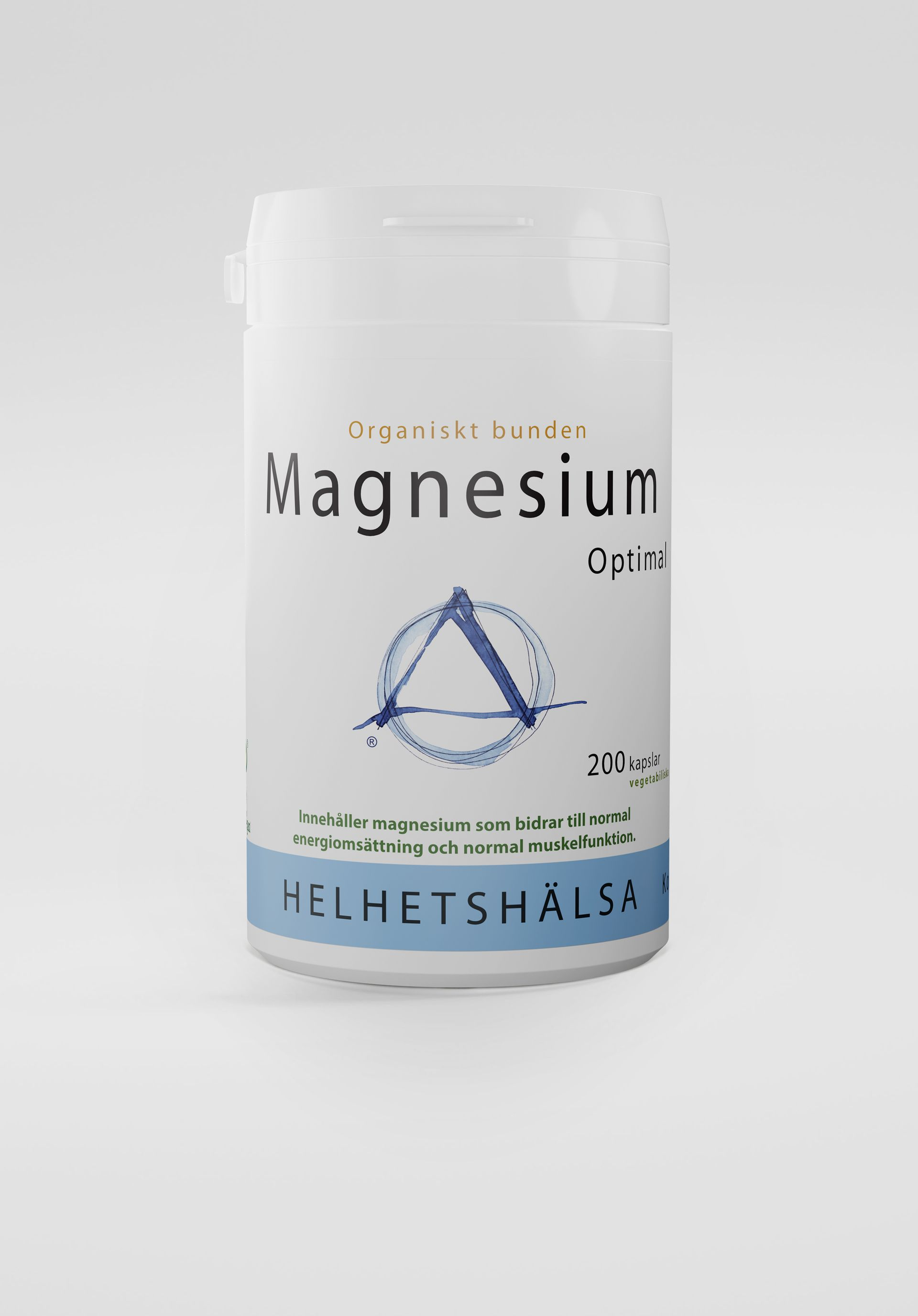 MagnesiumOptimal, 200 kapslar