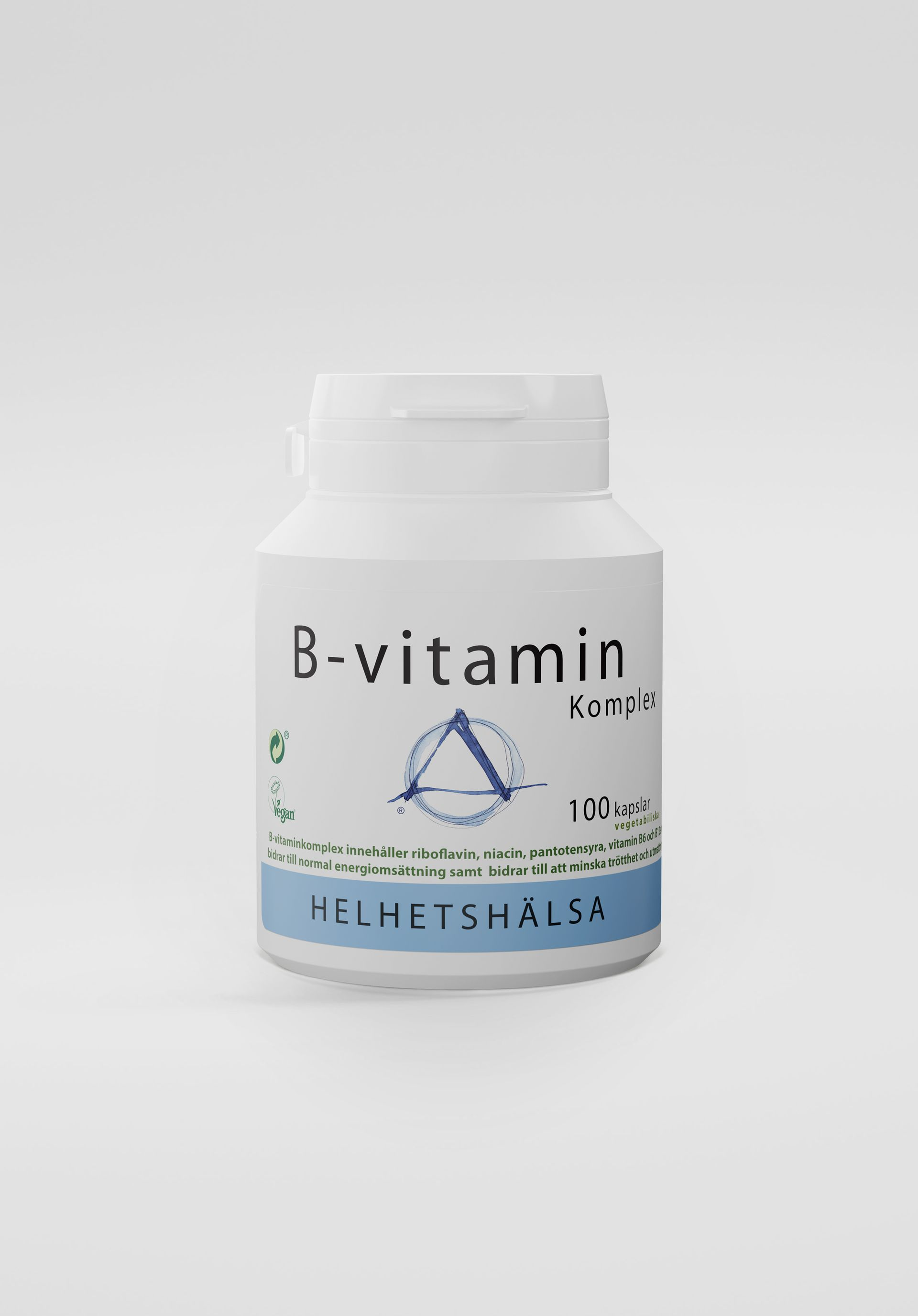 B-vitaminkomplex, 100 kapslar