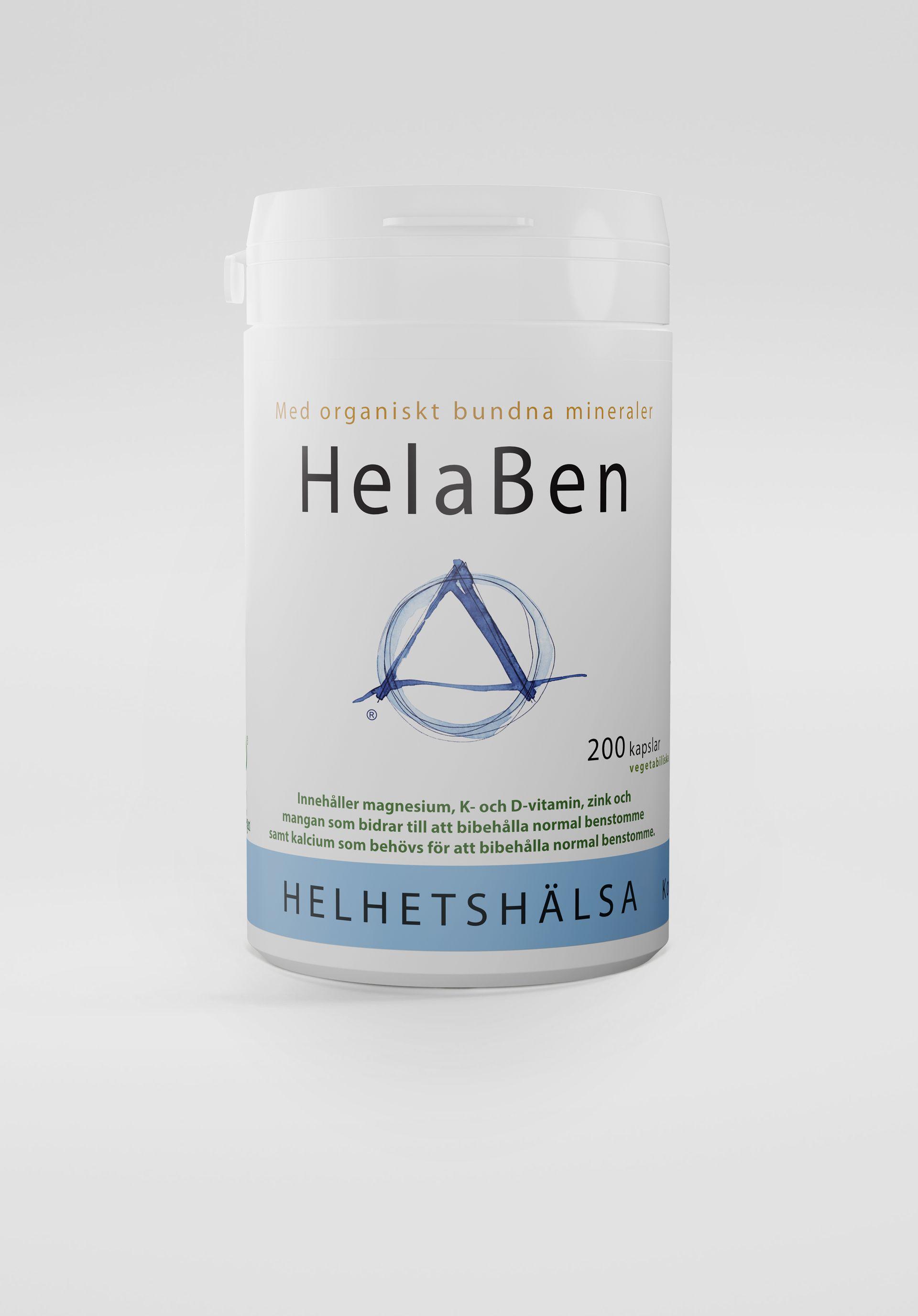 HelaBen, 200 kapslar