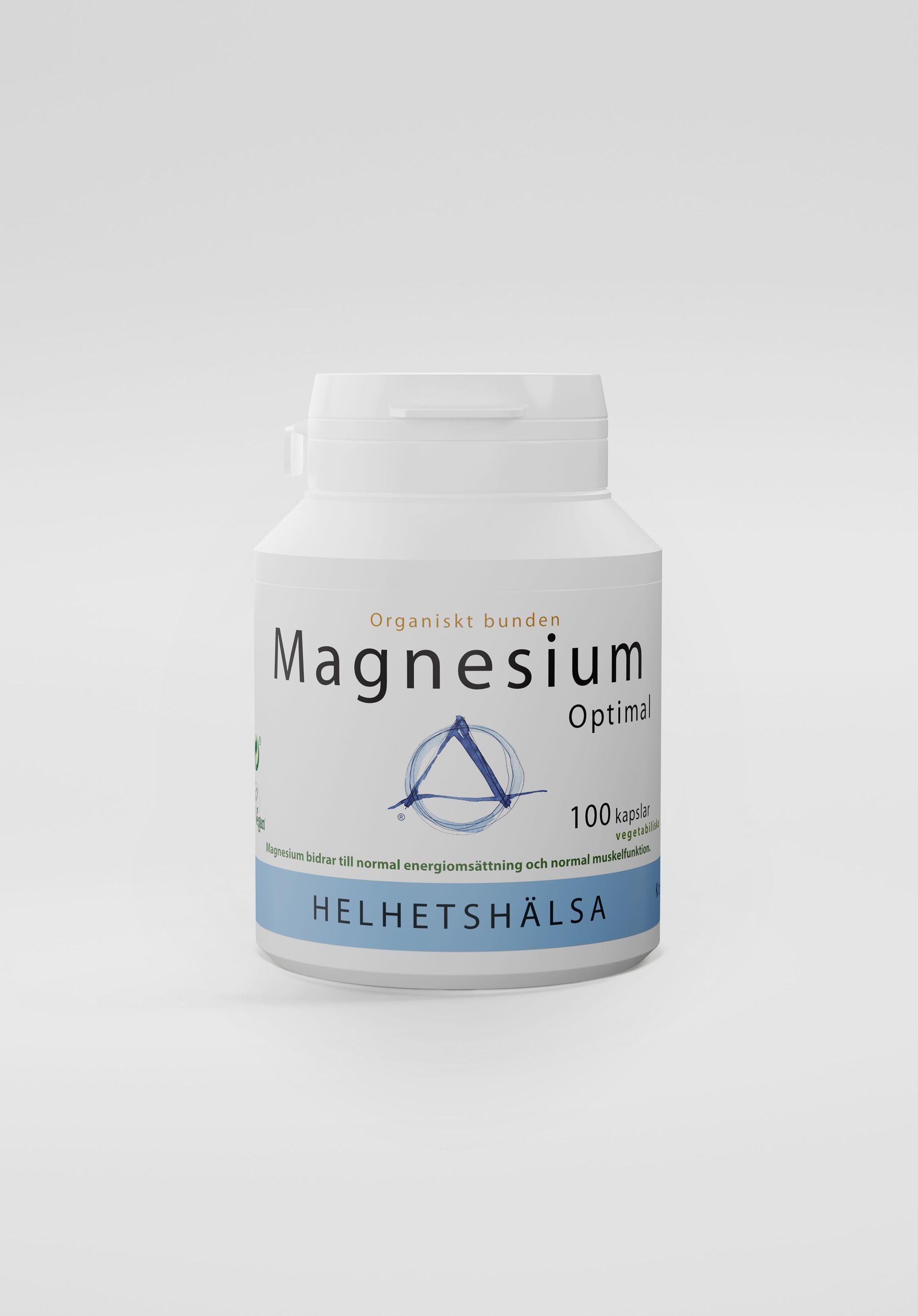 MagnesiumOptimal, 100 kapslar