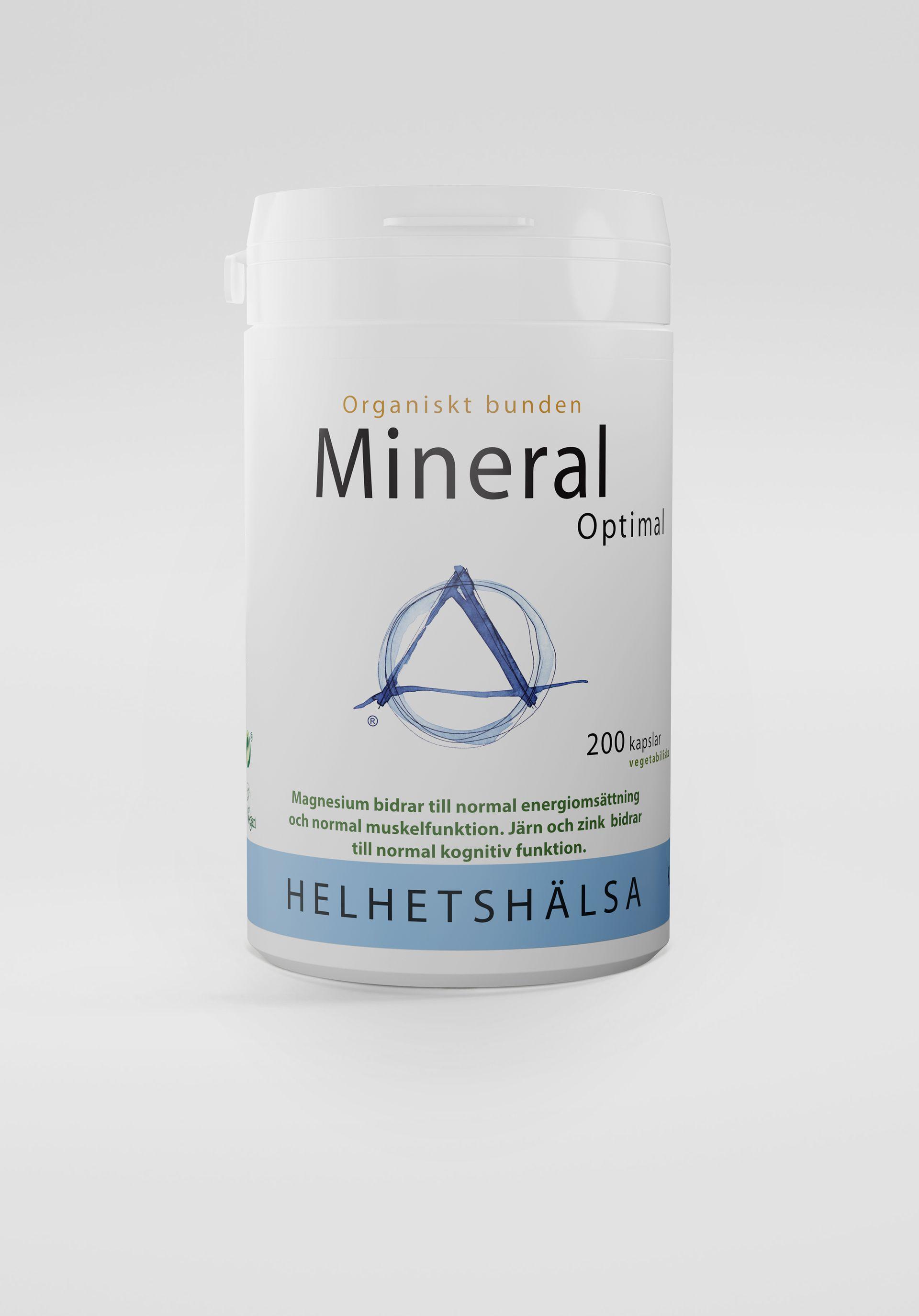MineralOptimal, 200 Kapslar