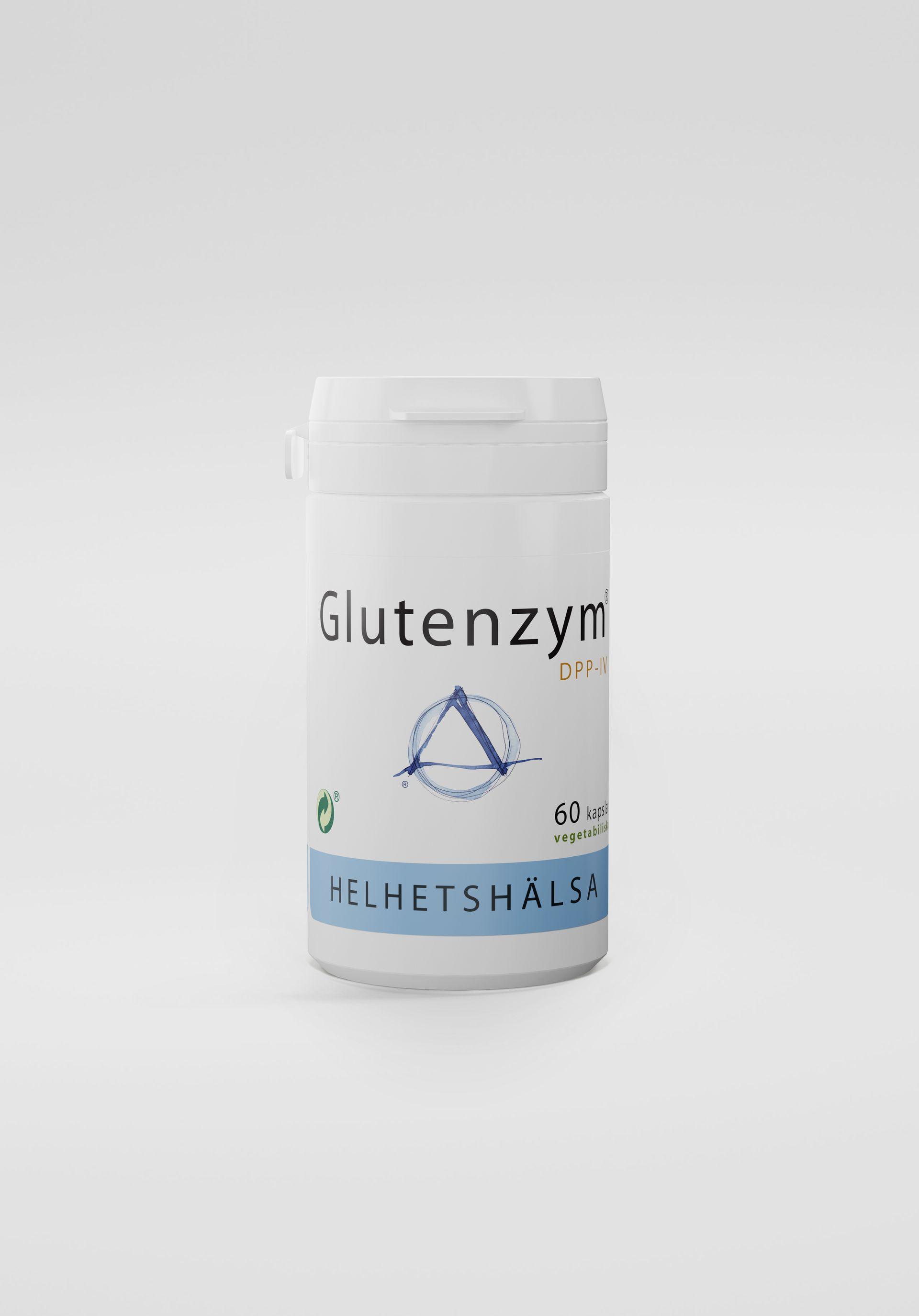 Glutenzym®, 60 kapslar