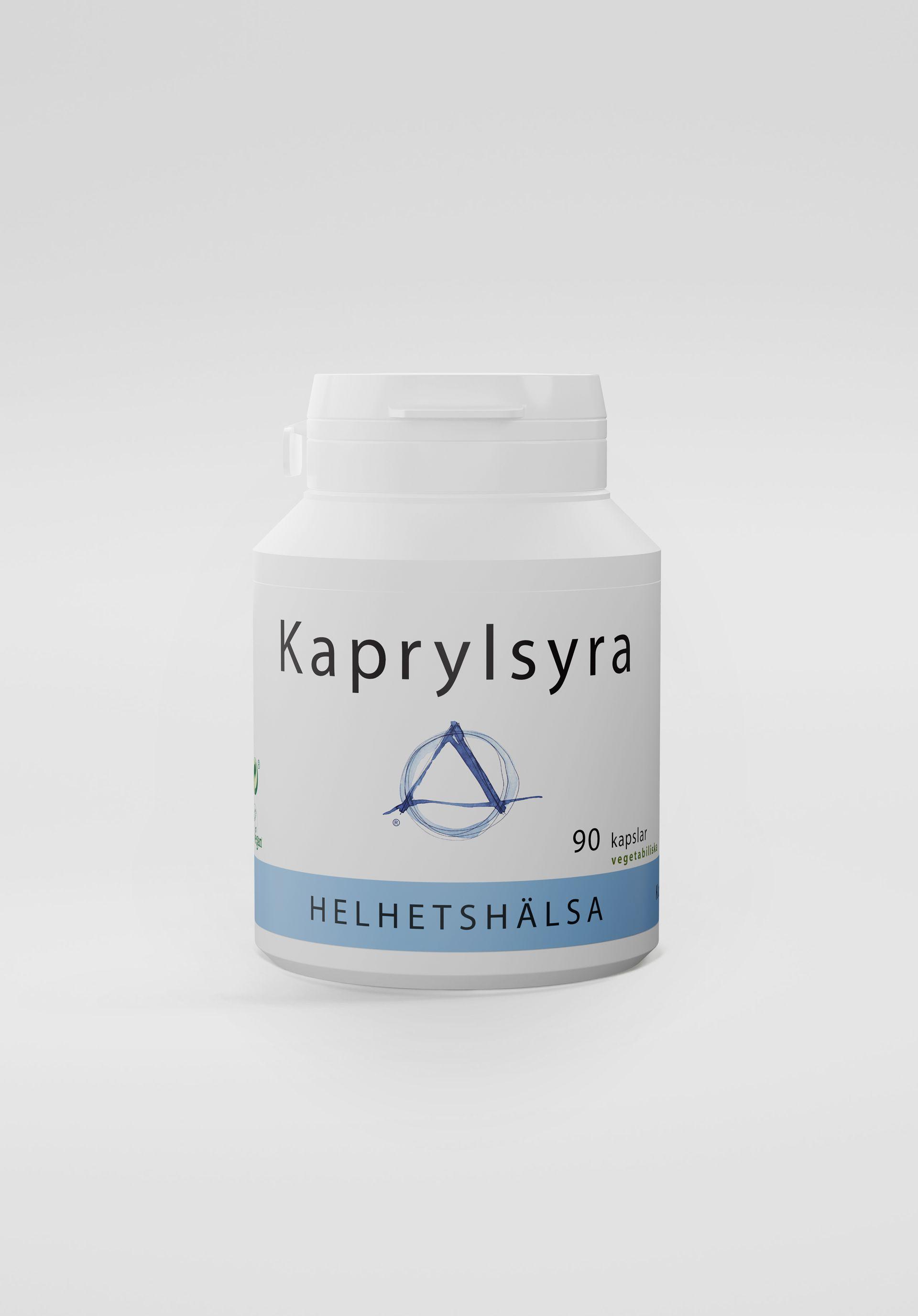 Kaprylsyra, 90 kapslar