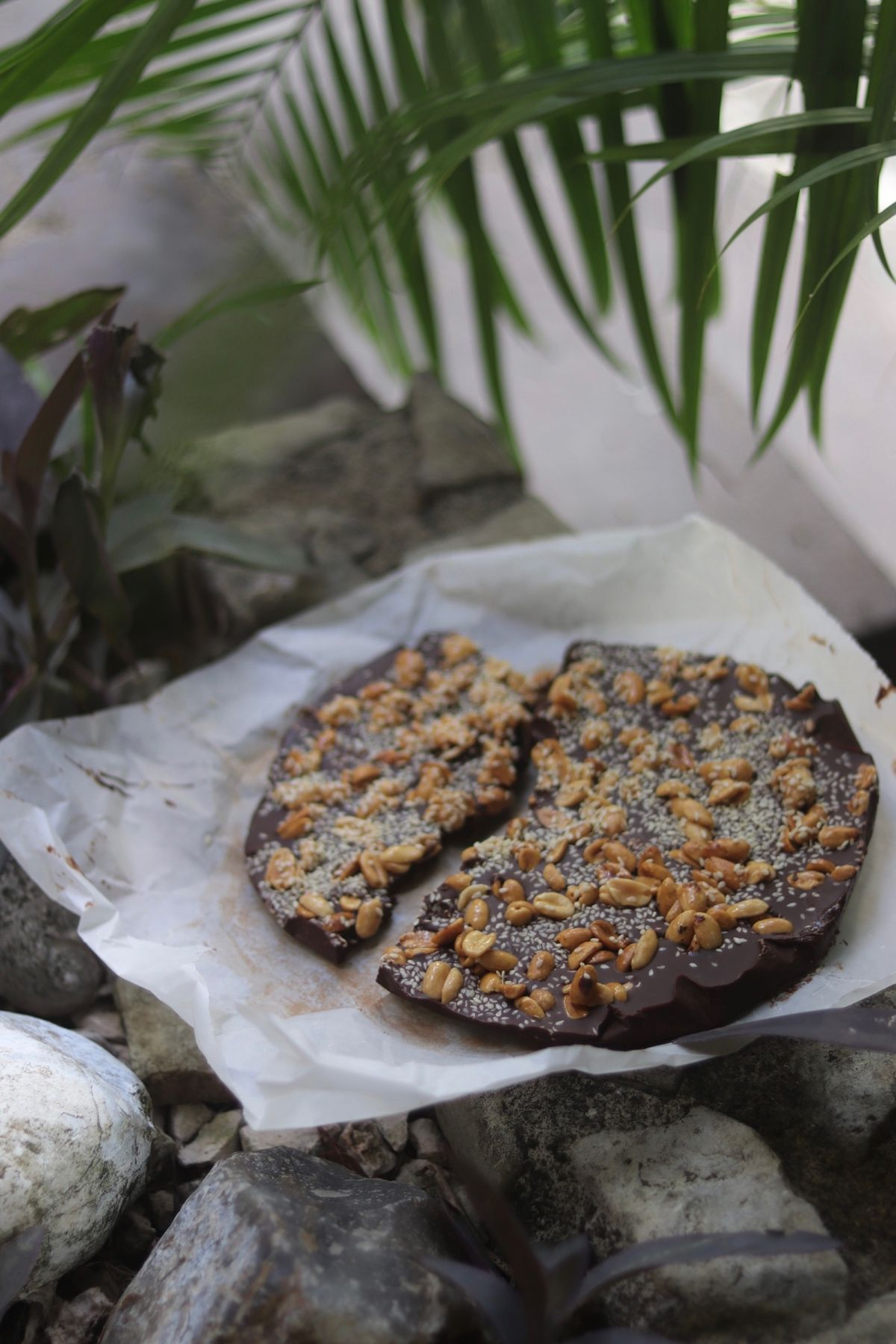 Hemmagjort chokladbräck, Enkel hemmagjord chokladbräck