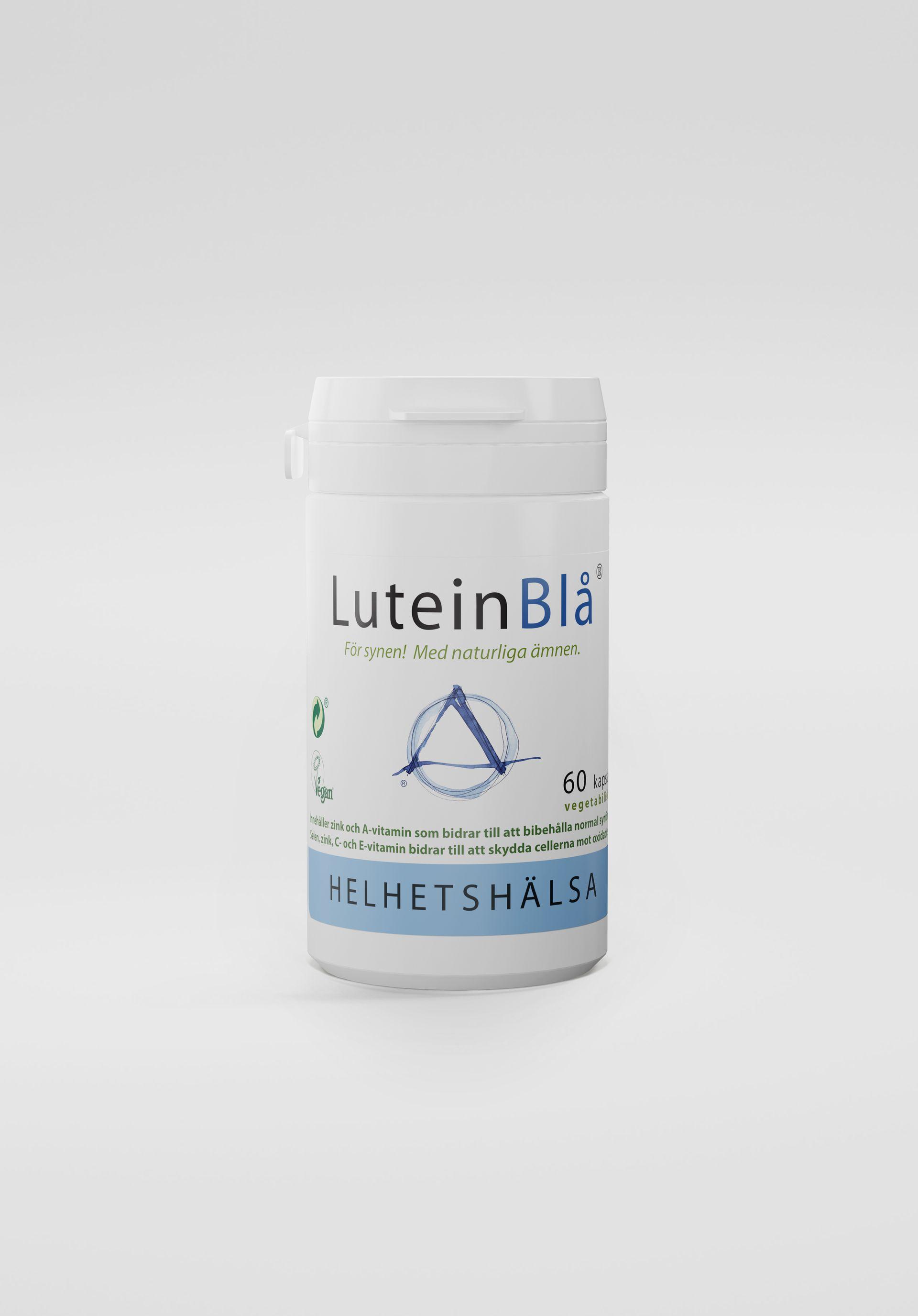 LuteinBlå®, 60 kapslar